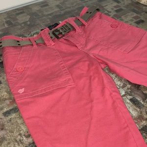 SANCTUARY :: Coral 🌺 Distressed Bermudas Size 26